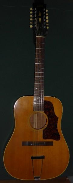 1967/8 Gibson B45-12-N £995