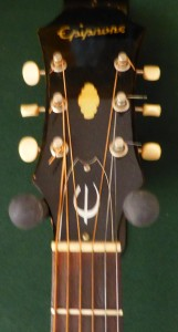 Texan Headstock