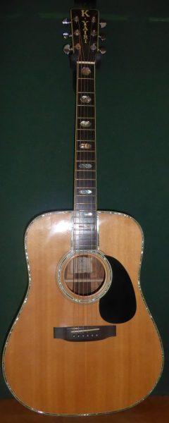 Yairi YW1000 Acoustic Guitar £1395