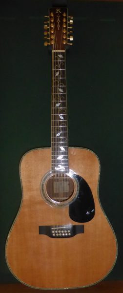 Yairi YW-7000 12 String Acoustic Guitar
