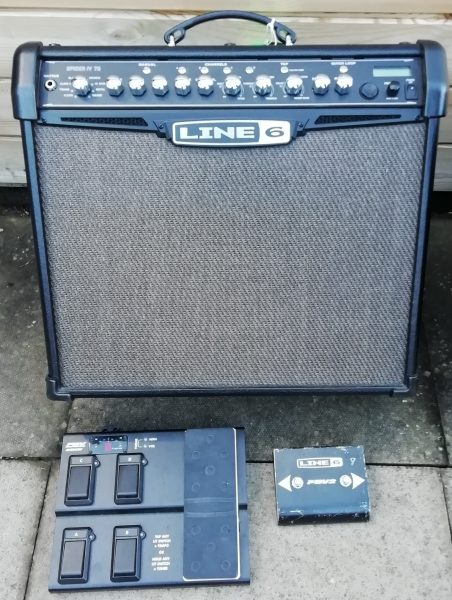 Line 6 Spider Guitar Combo £250