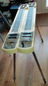 Lap Steel on stand