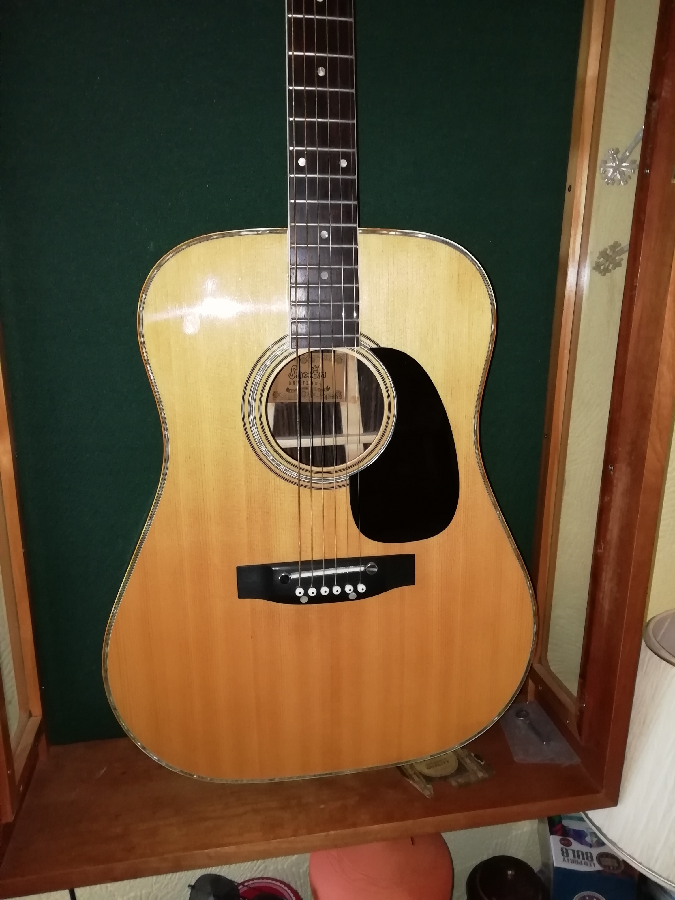 All Guitars | 1975 Selmer Saxon 824 Dreadnaught £245