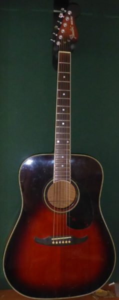 80's Fender Malibu Roadworn Acoustic £285